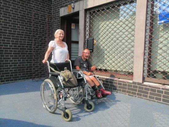 Przekazanie wózka dla Oli
